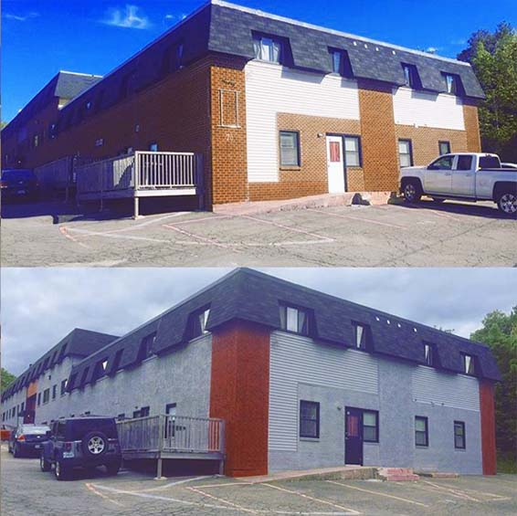 exterior commercial painting halifax industrial